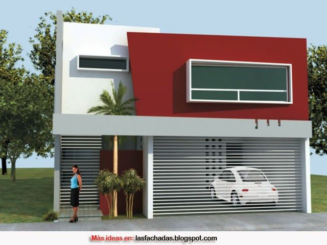 Colores para fachadas de casas feng shui colores para la for Casas modernas unifamiliares