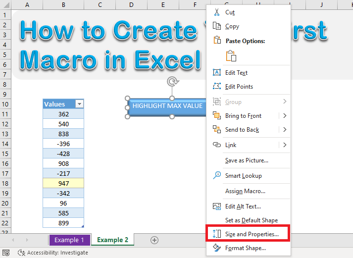 3 Easy Methods To Create Button In Excel For Macros Myexcelonline Excel For Beginners Microsoft Excel Tutorial Excel Tutorials