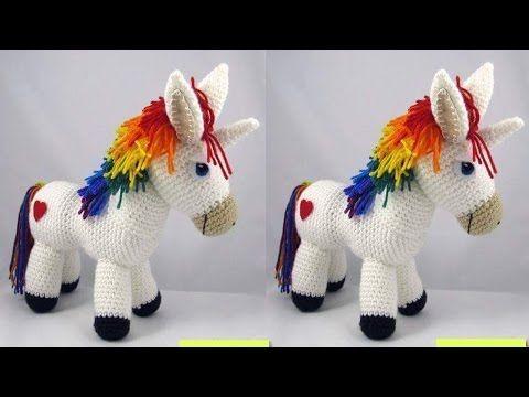 Amigurumi Unicorn : Unicornios tejidos a crochet amigurumi unicorns youtube