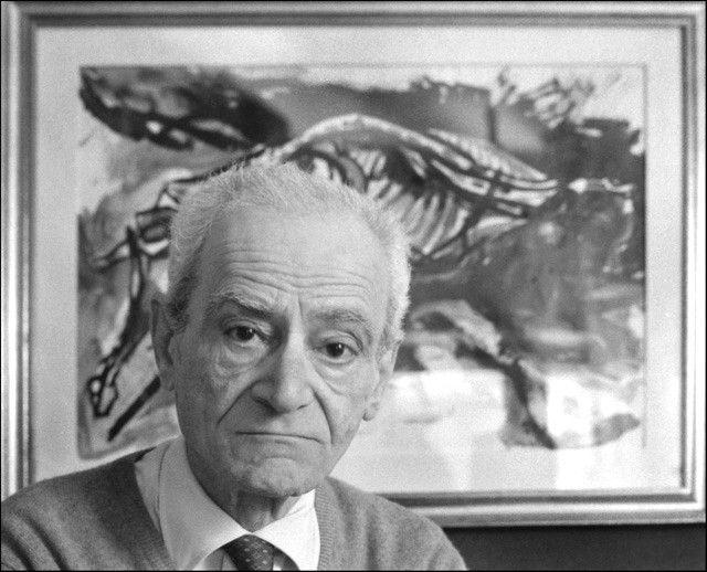 Il maestro elementare Giorgio Caproni