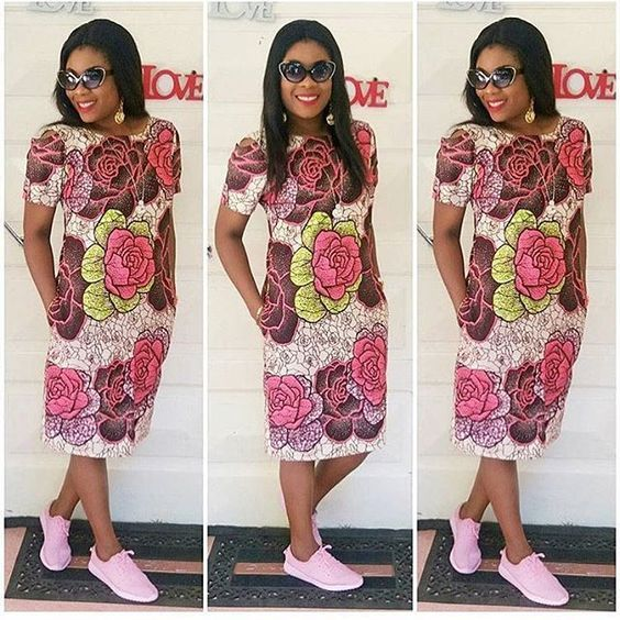 Online Hub For Fashion Beauty And Health: Stylishly Colorful Ankara ...