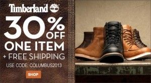 Tina dolor Milagroso  Timberland Columbus Day Sale 2013 - | Columbus day sale, Fashion deals,  Online coupons