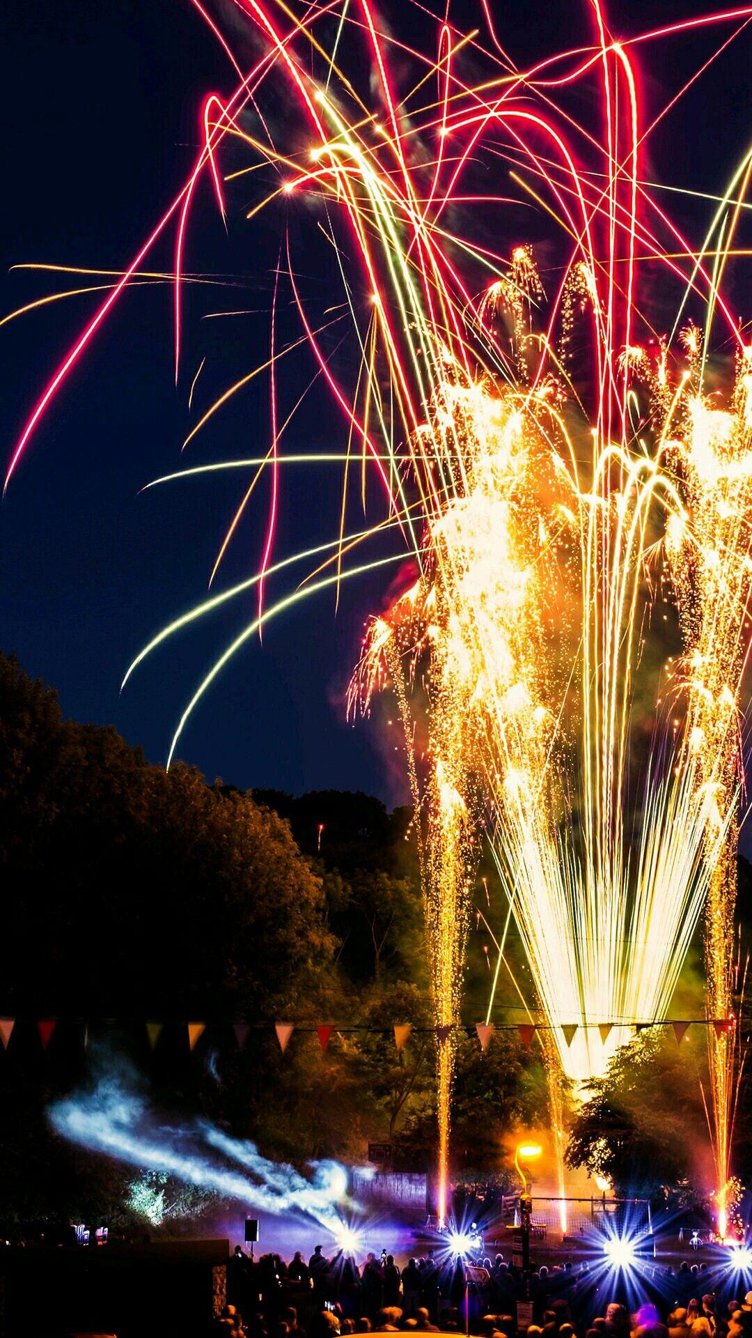 Feuerwerk Zeiten