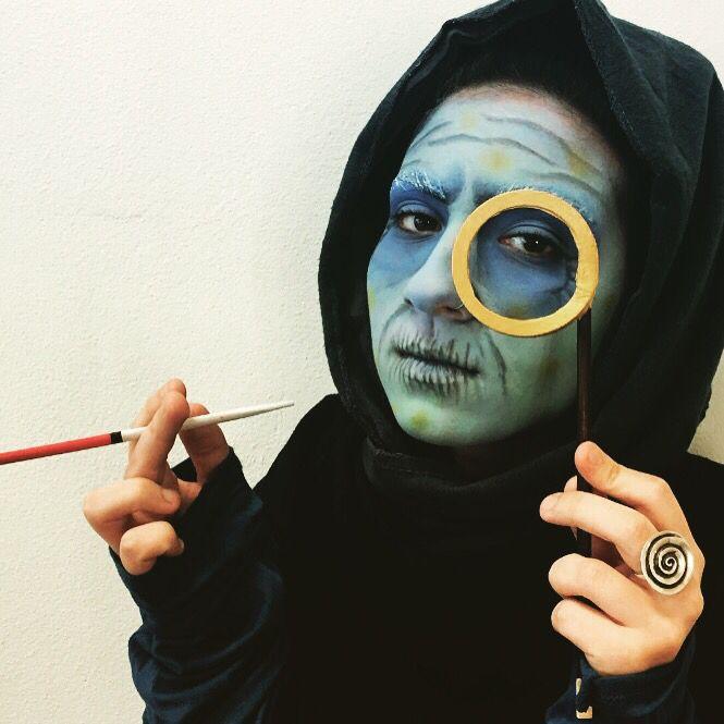 Brucaliffo Caterpillar Makeup Lagarta Make Artistica