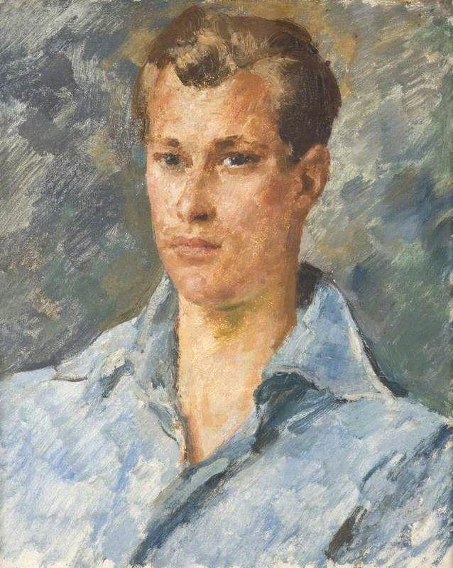 Augustus Edwin John - Portrait of a Young Man