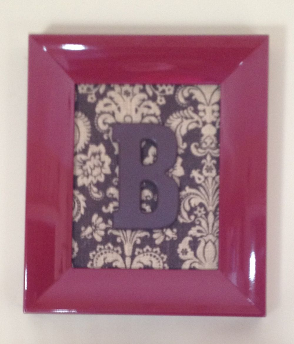 Remove Glass From Any Old Picture Frame Repaint If Wanted Use