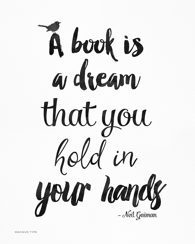 'Neil Gaiman quote' by Pranatheory