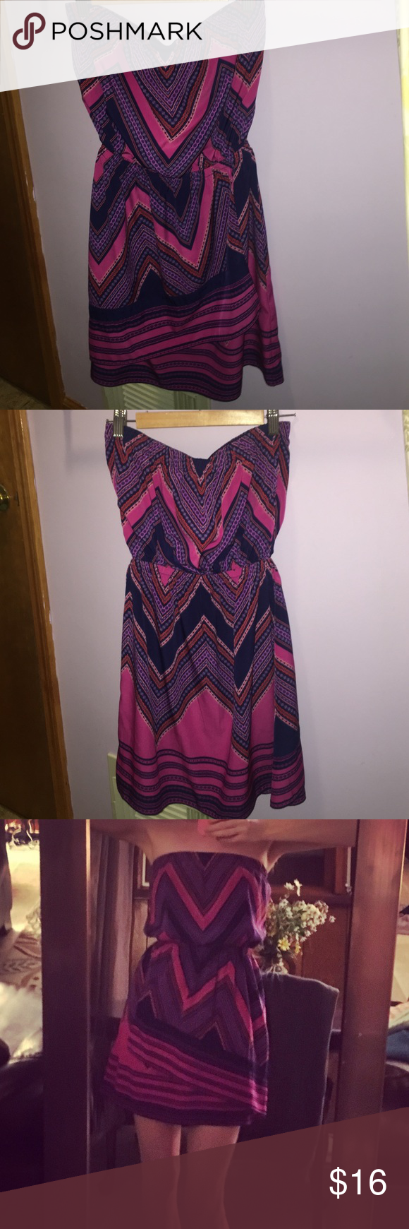 💗Express Strapless Dress   Strapless dress, Express dresses and Flaws