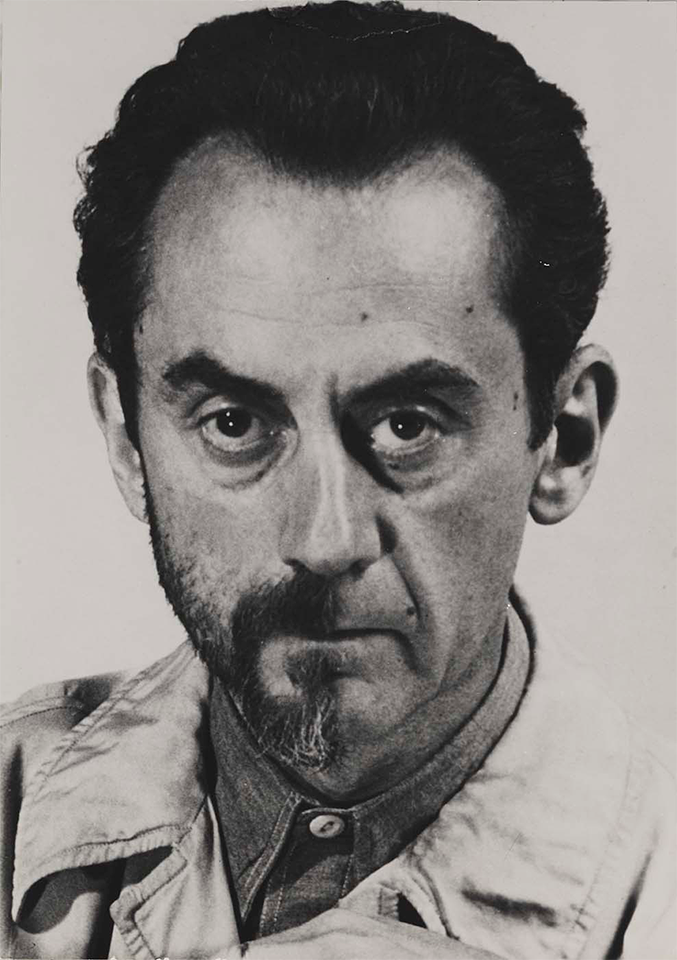 man ray early life | Man_Ray-Self_Portrait-w-Mustache_Beard_Half_Shaved_Off-01a