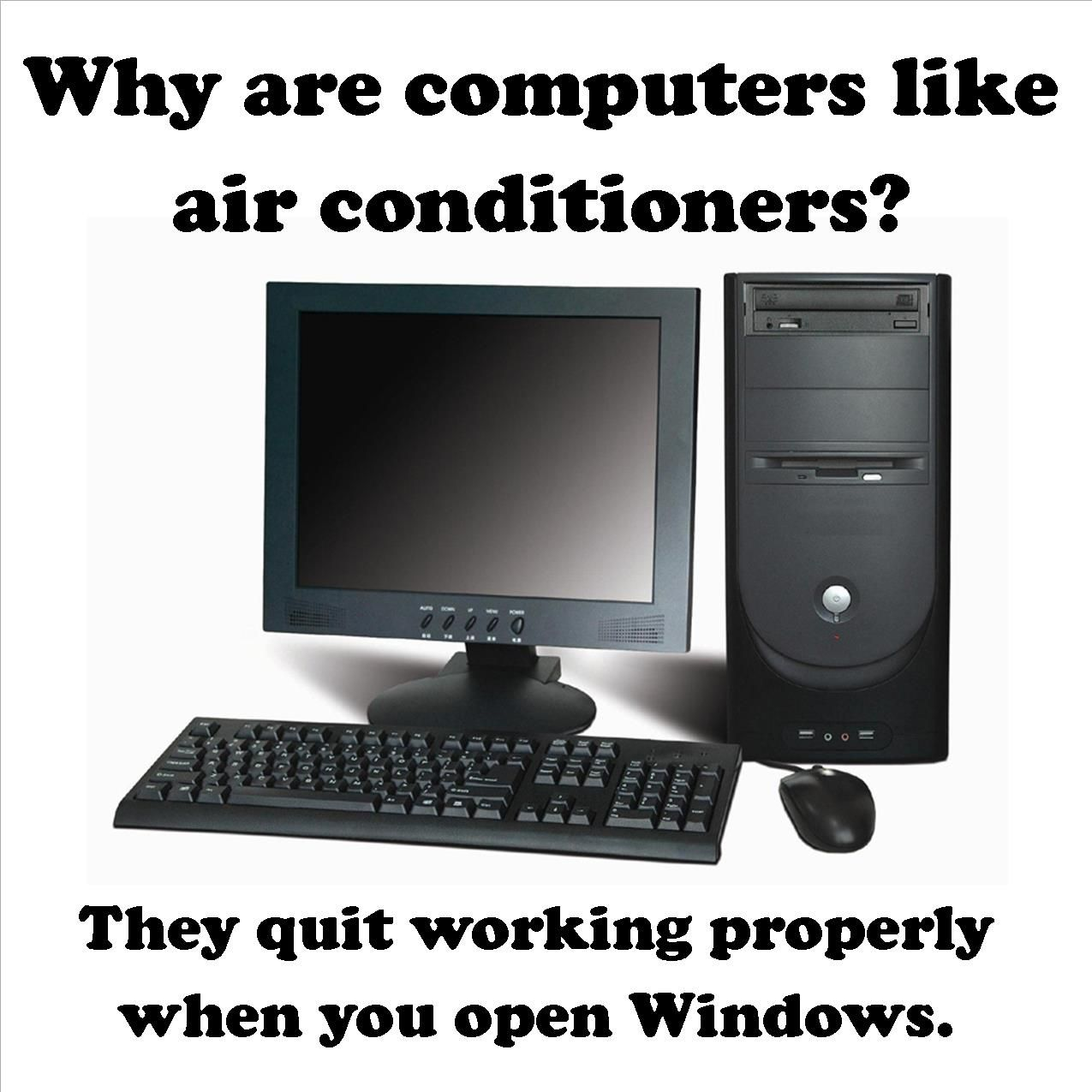 Just a little HVAC humor to start off your Monday