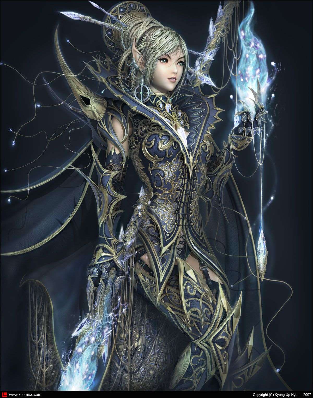 Magician Of Darkness Elf Warrior Fantasy Warrior Warriors Wallpaper