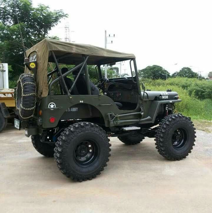 Old Jeep Truck India
