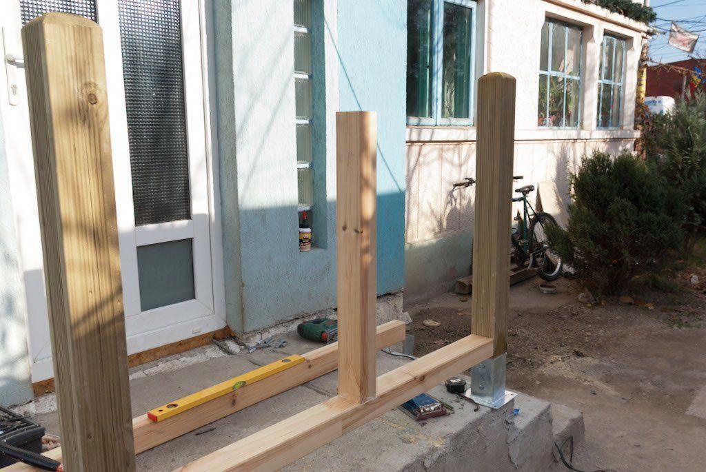 Installing Floating Deck Post Building A Deck Diy Deck Deck Design