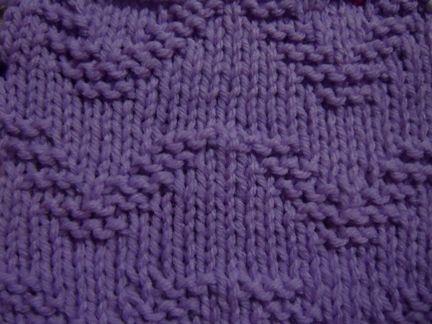 Ocean Wave Knitting Stitch Pattern Knitting Stitch Patterns