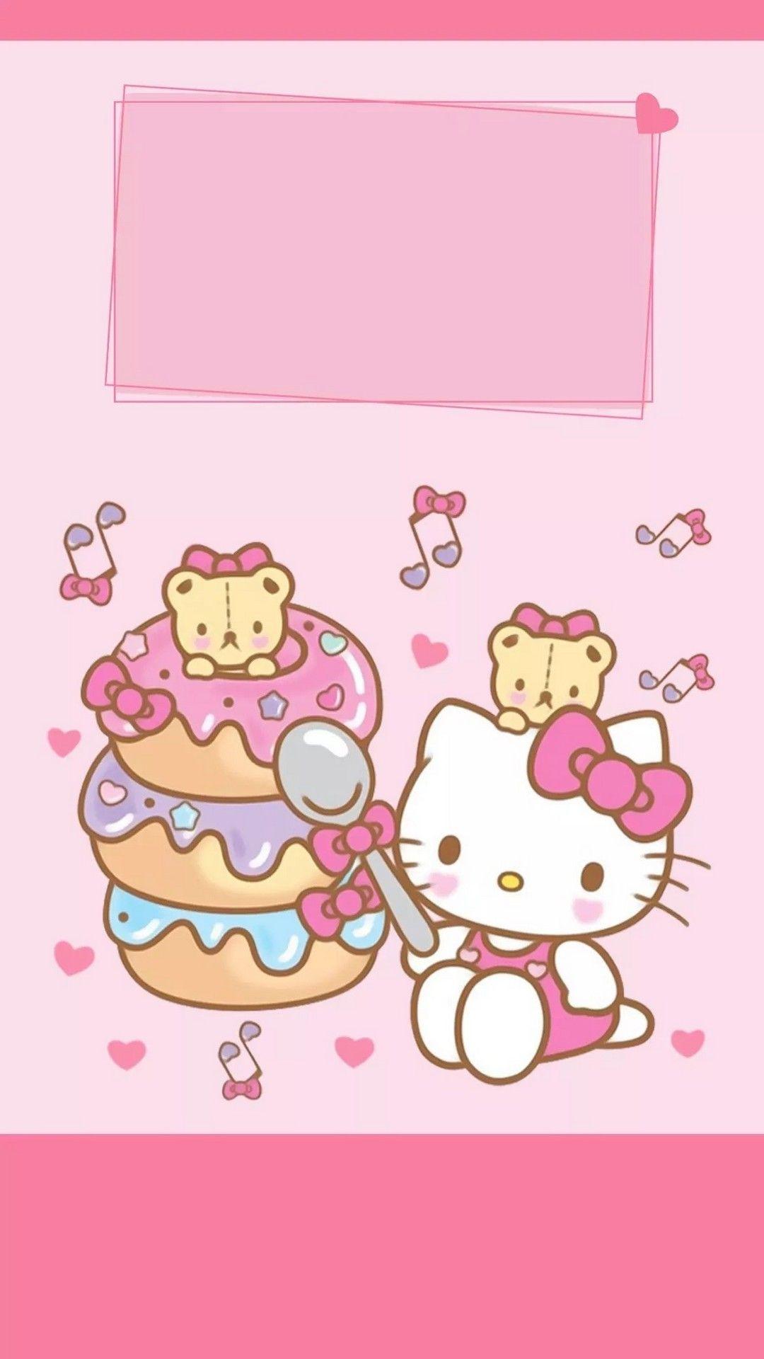 Hello Kitty Iphone 7 Wallpaper Hello Kitty Backgrounds Hello