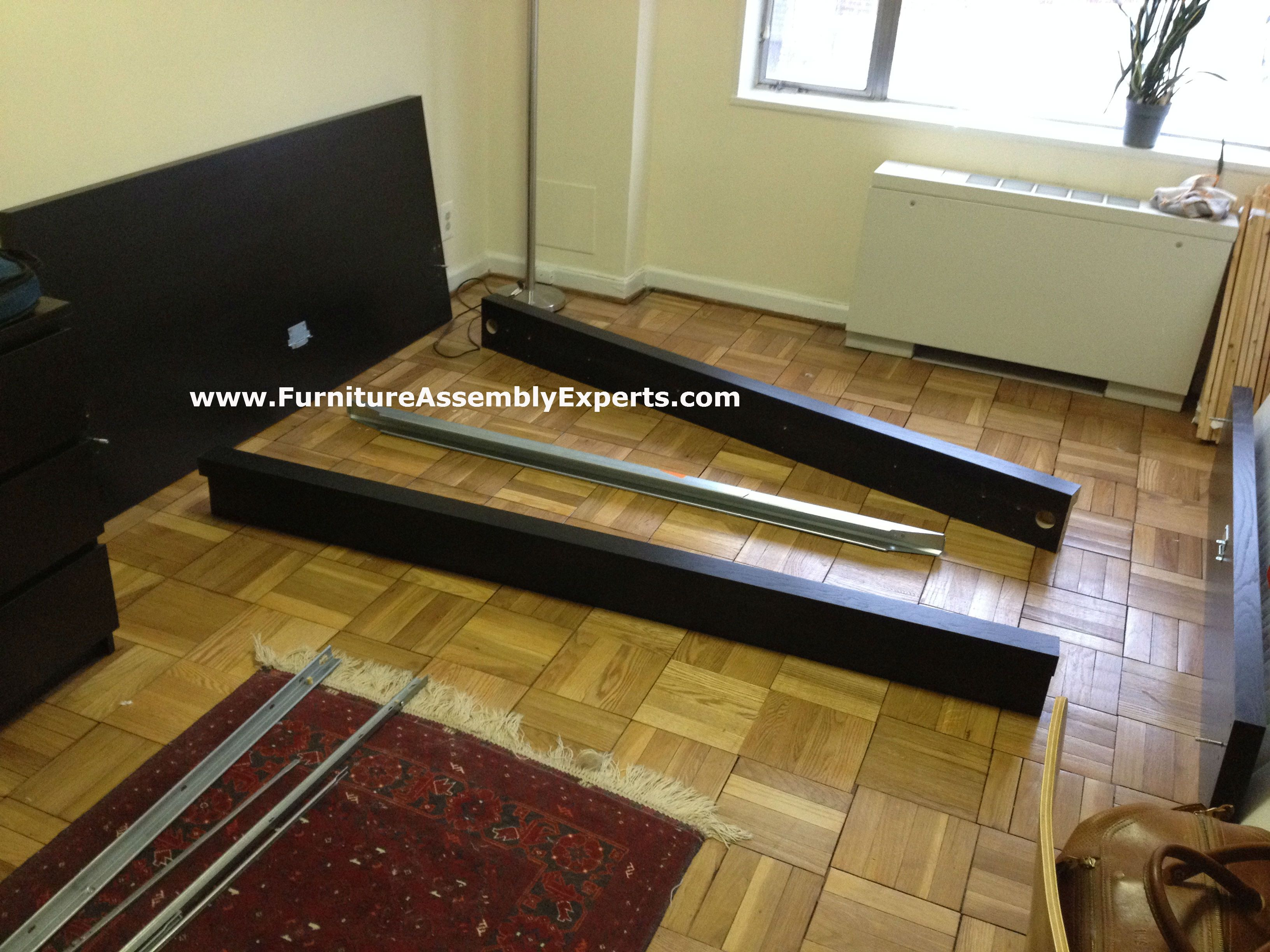 Ikea Malm Bed Disassembled In Baltimore Md By Furniture Assembly