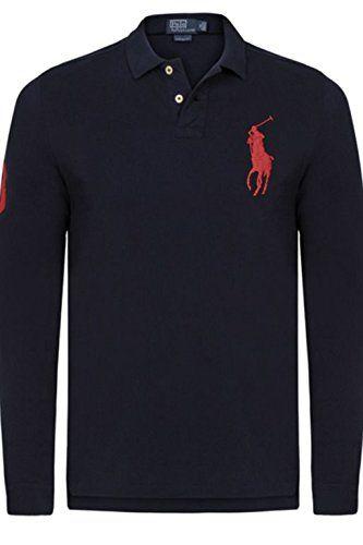 Ralph Lauren Polo   Herren Poloshirt   langarm big Pony 2015 versch. Farben  S- 662c78e41f