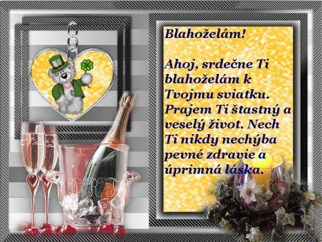 Obrazky Gify Smajliky Pozdravy K Meninam Narodeninam Blahozelania