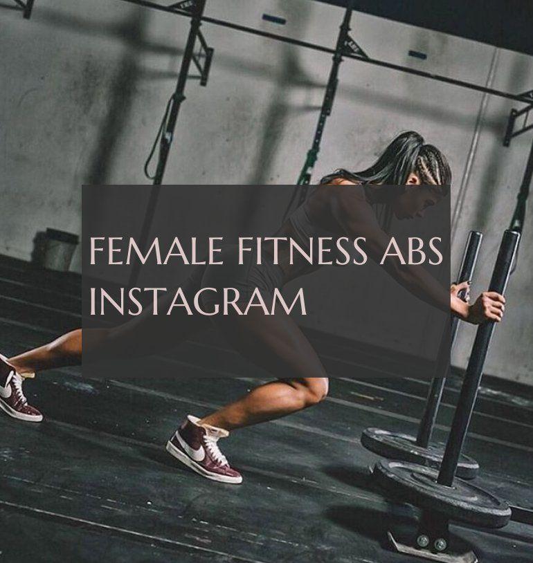 female fitness abs instagram #female #fitness #instagram