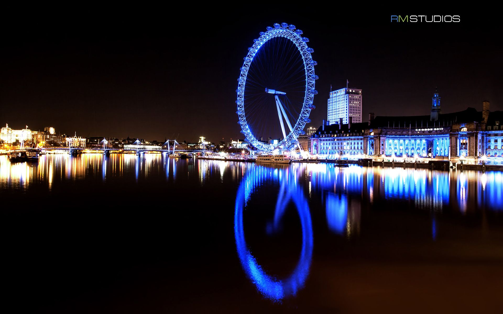 London Eye River Thames HD Widescreen Travel World Wallpaper From The Above Resolutions