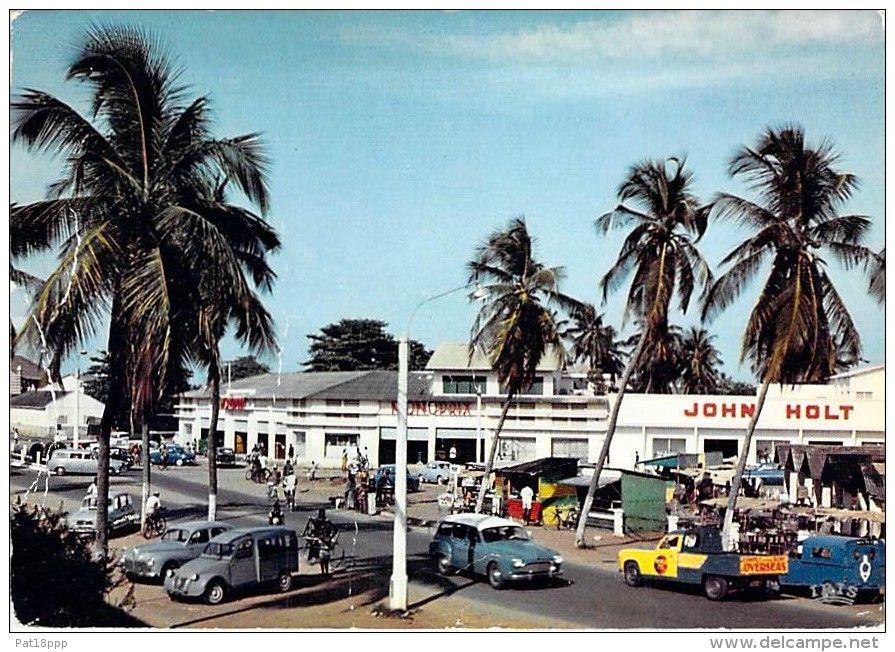 AFRIQUE NOIRE DAHOMEY ( actuel BENIN ) COTONOU Centre