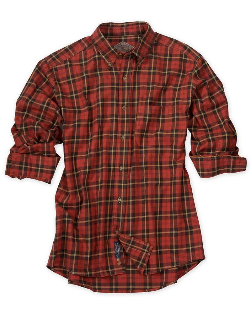 Fullerton Plaid Shirt, Long Sleeve