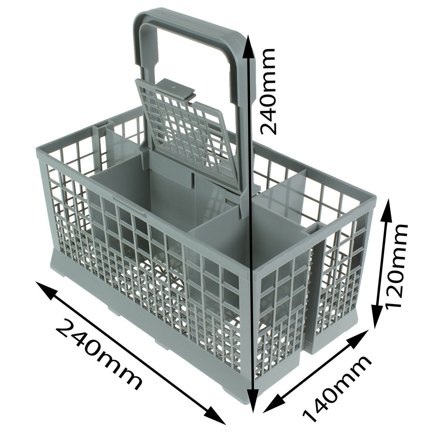 Details About Universal Dishwasher Cutlery Silverware Basket For