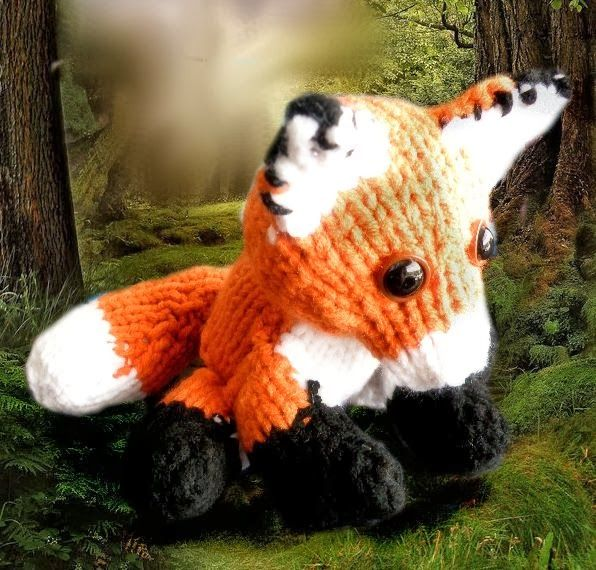 The Loom Muse Creations and Ideas: How to Loom a Fox   Yarn (knit ...