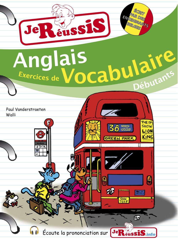 Anglais - Exercices de vocabulaire