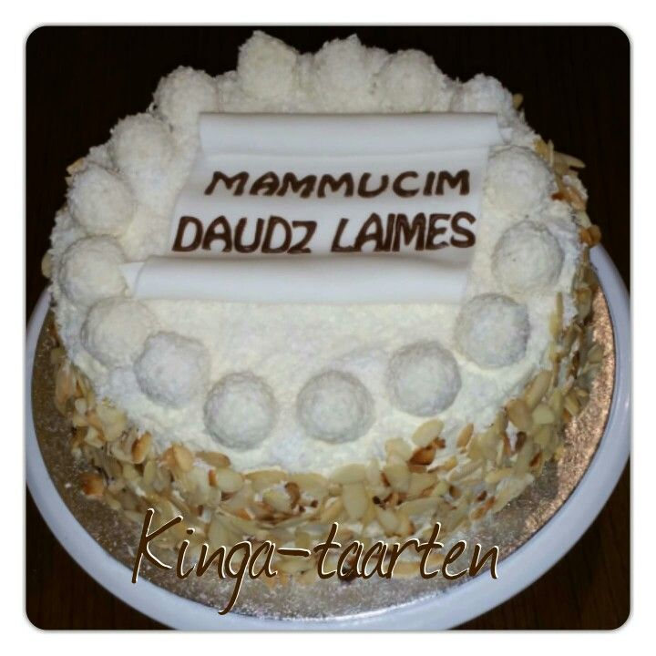raffaello taart Raffaello taart   Kinga taarten /torty /cake   Pinterest   Cake raffaello taart