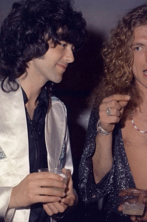 Robert Plant & Jimmy Page | Led Zeppelin  via Tumblr.COM