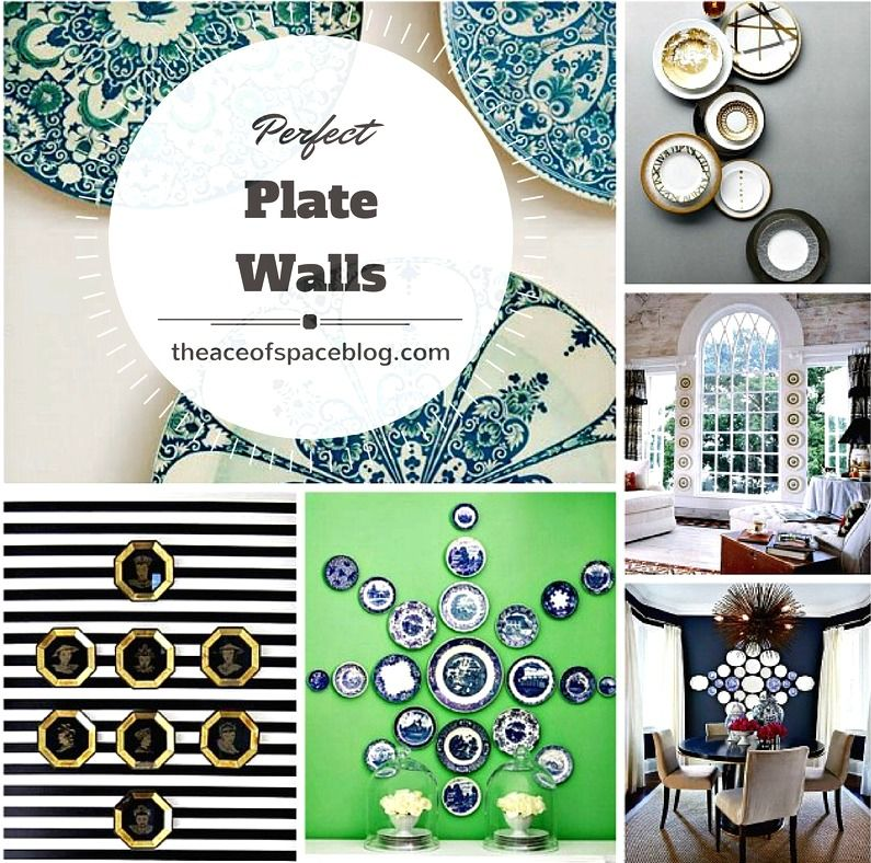 """The Great Wall of China :: """"Plate-scaping"""" creating the perfect plate display..."""