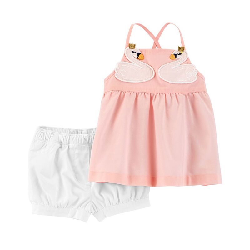 ce07c88ad Carter's Sleeveless Dress Set - Baby Girls | Products | Carters baby ...