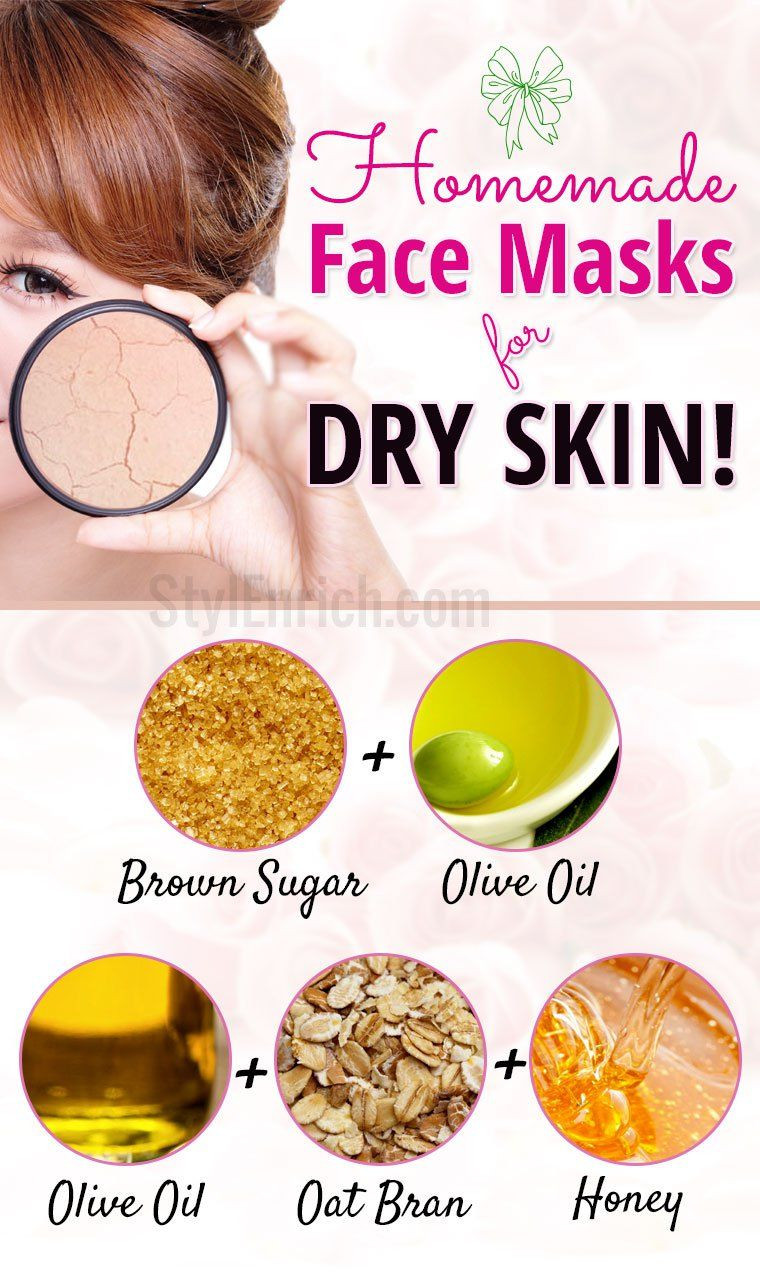 Homemade masks for dry skin Mask for dry skin, Homemade