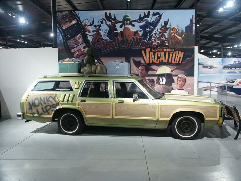 Griswold Vacation Family Truckster As Displayed At The Historic Auto