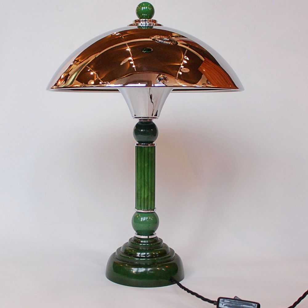 Art Deco Dome Table Lamp Art Deco Art Deco Table Lamps