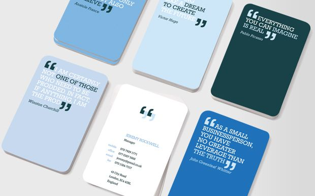 Moo Business Cards You Can Quote Me Products I Love Pinterest Visit And Typography