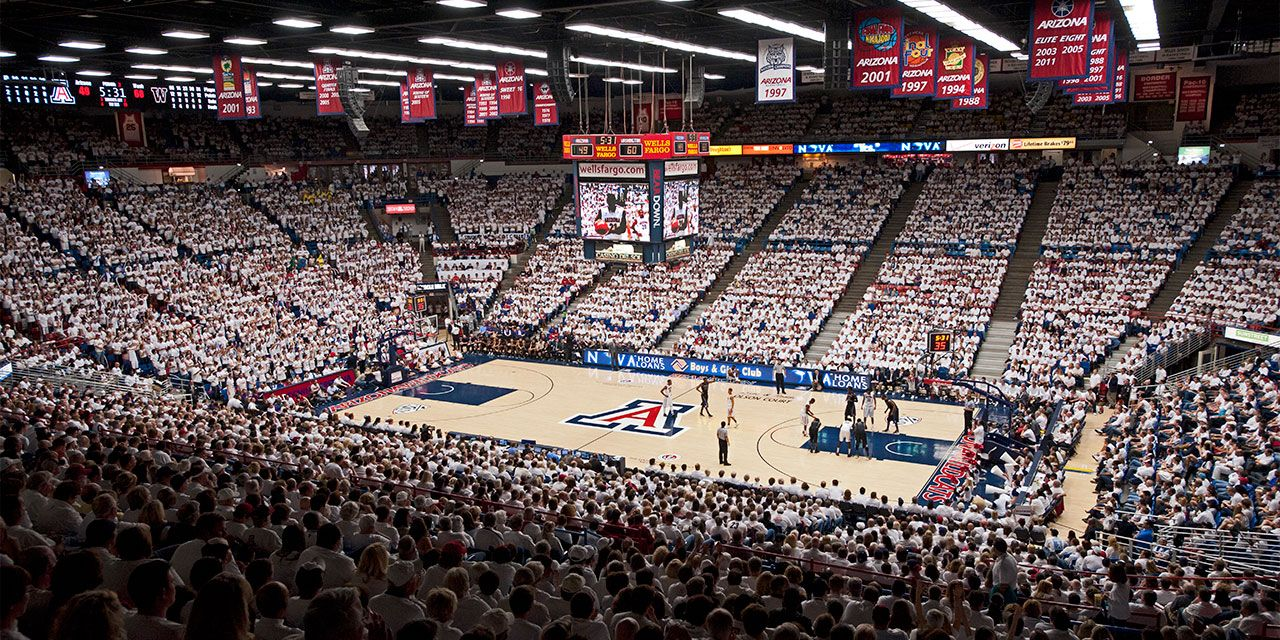 And This Stadium Will Always Be Home University Of Arizona Basketball Blue Game