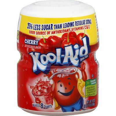 Kool Aid Canisters Only 83 At Walgreens Cherry Drink Kool Aid Flavored Drinks