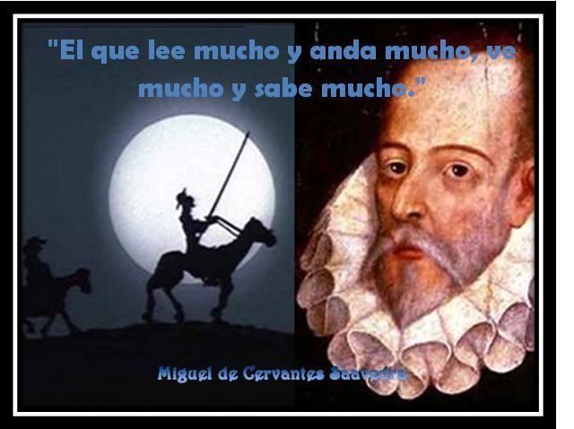 Miguel Cervantes - Leer y andar