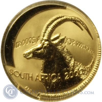 1999 2000 South African 1 10 Thumbnail Gold And Silver Coins Coins Gold Coins