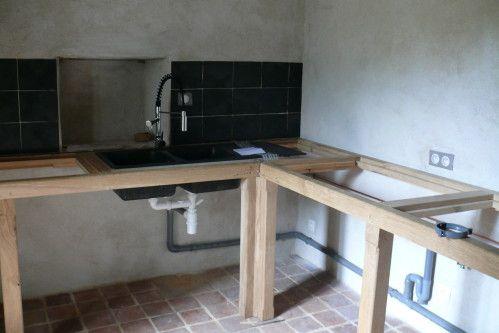 Plan De Travail Fait Maison Maison Cuisine Appartement