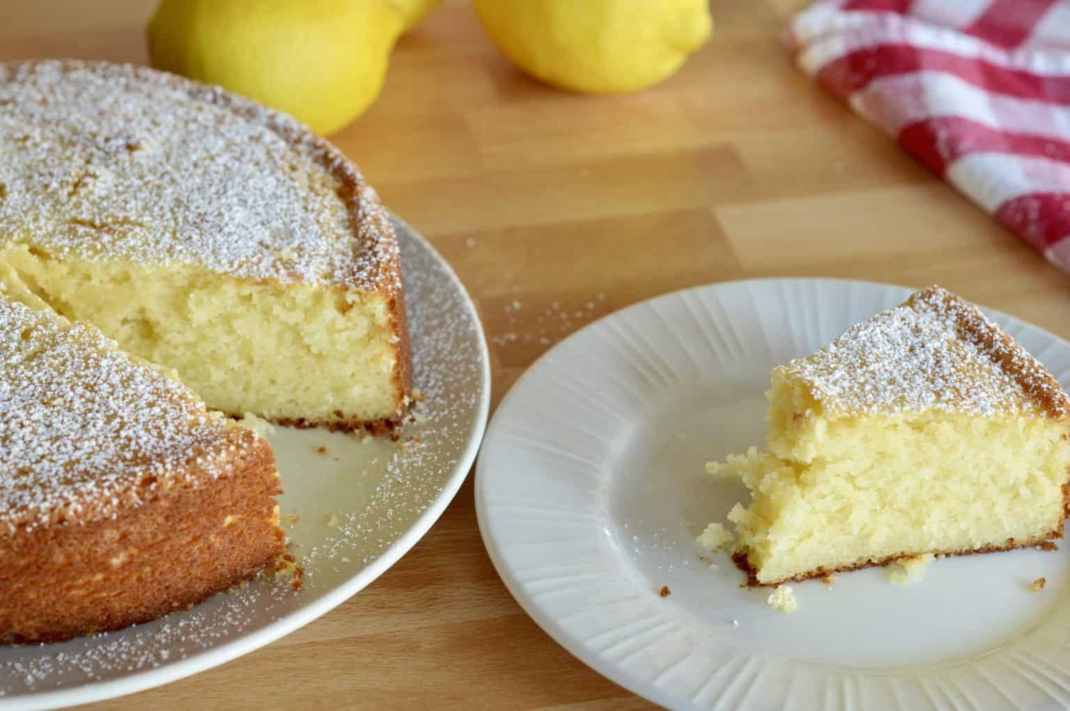 Italian lemon ricotta cake light moist recipe this