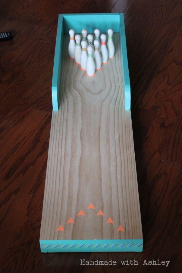 diy bowling lane tutorial woodworking