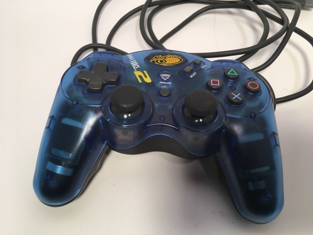 Sony Playstation 2 PS2 Mad Catz Dual Force 2 controller