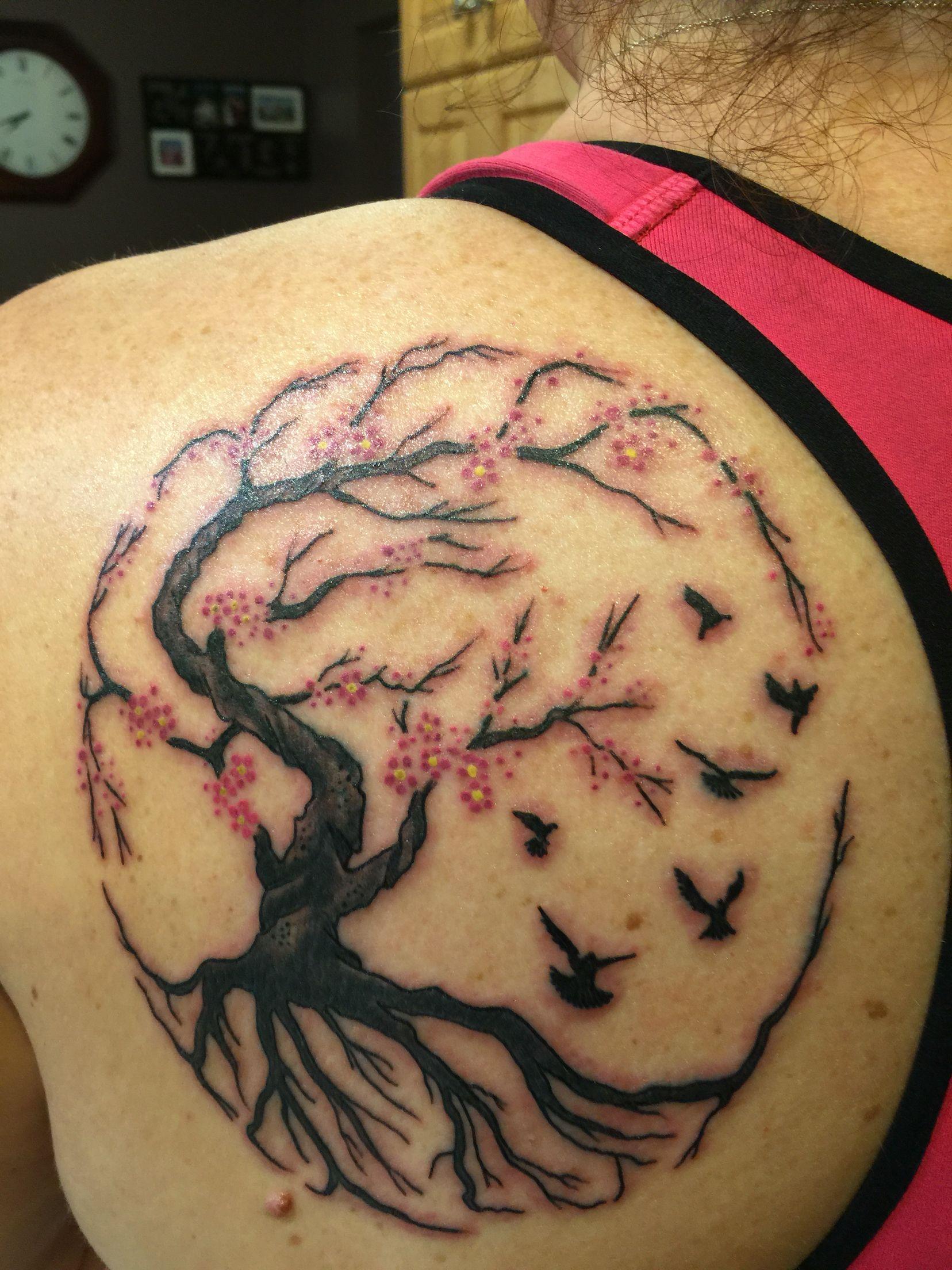 Tree Of Life Tattoo Tree Of Life Tattoo Life Tattoos Trendy Tattoos