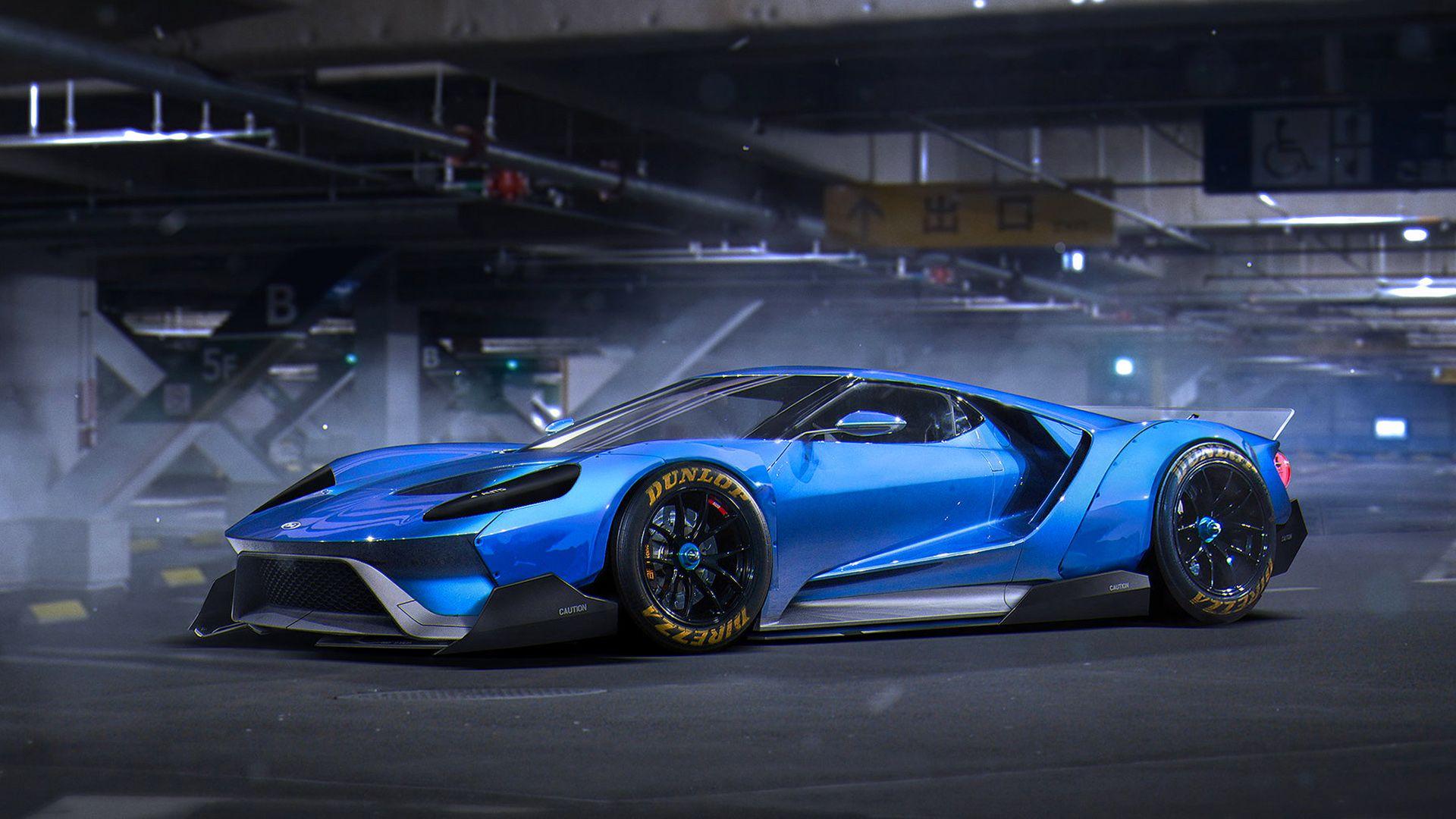 Ford Gt Concept Cars Futuristic Cars