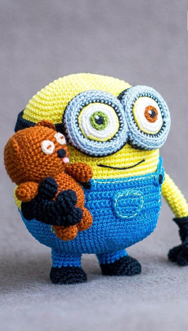 60+ Awesome Cartoon Character Amigurumi Crochet Ideas - Page 2 of 60 - Free Amigurumi Pattern, Amigurumi Blog! #minioncrochetpatterns