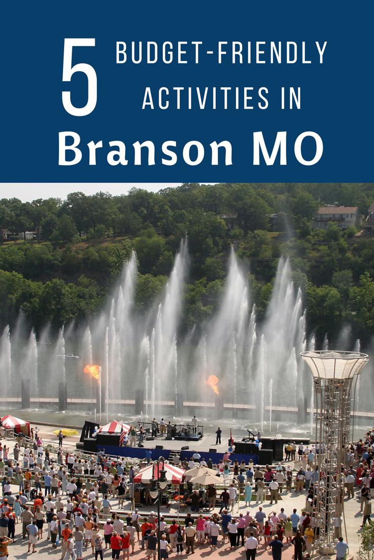 5 Budget Friendly Activities In Branson Mo Branson Vacation Branson Missouri Branson Landing