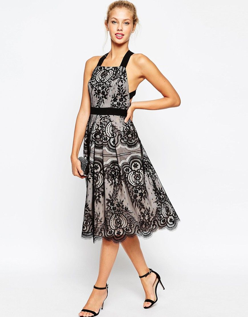 Petite premium eyelash lace midi prom dress asos lace and asos petite